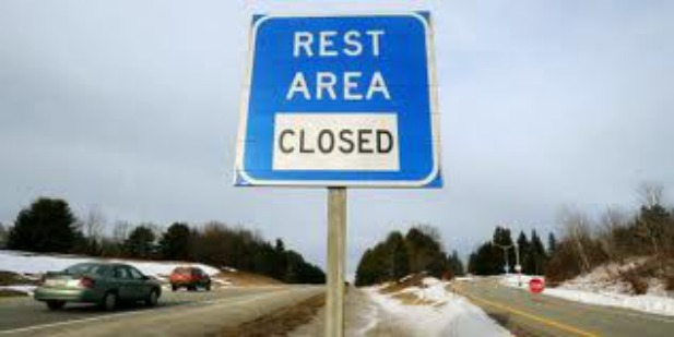 rest area closed3