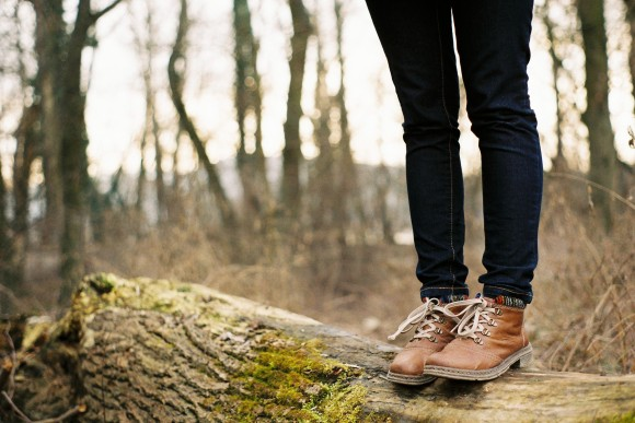 hiking boots from unsplash