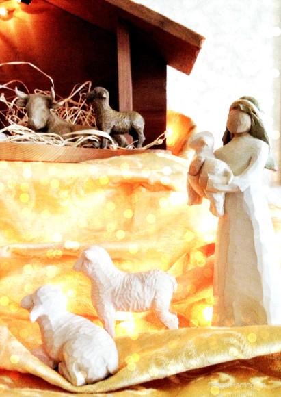 Shepherds seek Christ
