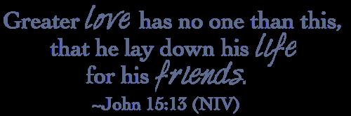 John 15-13